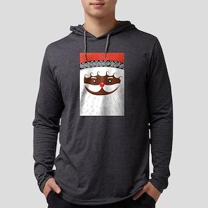 afro american santa Long Sleeve T-Shirt