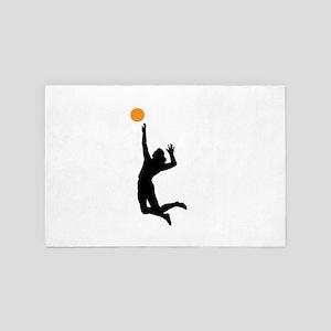Volleyball 4' x 6' Rug