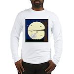 Bat Sleeping In Long Sleeve T-Shirt