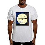 Bat Sleeping In Light T-Shirt