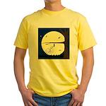 Bat Sleeping In Yellow T-Shirt