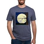 Bat Sleeping In Mens Tri-blend T-Shirt