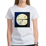 Bat Sleeping In Women's Classic T-Shirt