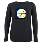 Bat Sleeping In Plus Size Long Sleeve Tee