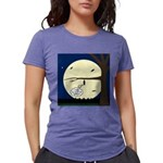 Bat Sleeping In Womens Tri-blend T-Shirt