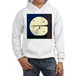 Bat Sleeping In Hooded Sweatshirt
