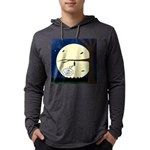 Bat Sleeping In Mens Hooded Shirt