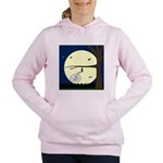 Bat Sleeping In Women's Hooded Sweatshirt