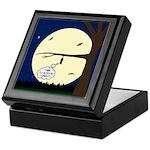 Bat Sleeping In Keepsake Box