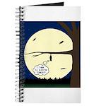 Bat Sleeping In Journal