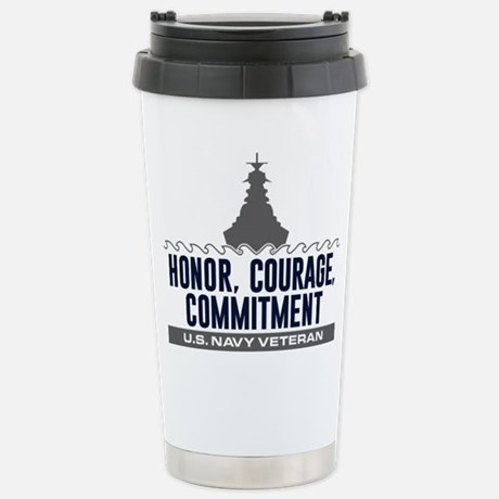 U.S. Navy Honor Courage Commitment