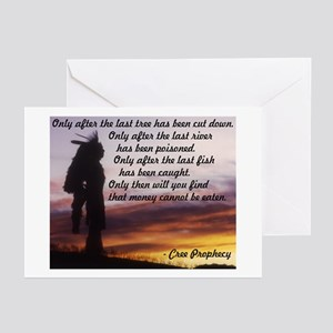 Native Prophecy - Environment Greeting Cards (Pack