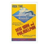 Ride The Crusader 1937 Postcards (Package of 8)