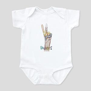 Peace! Infant Bodysuit
