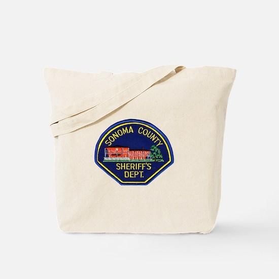 Sonoma Sheriff Tote Bag