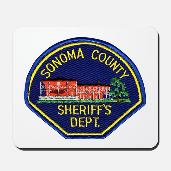 Sonoma Sheriff Mousepad
