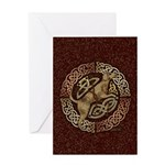 Celtic Dog Greeting Card
