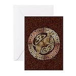Celtic Dog Greeting Cards (Pk of 10)