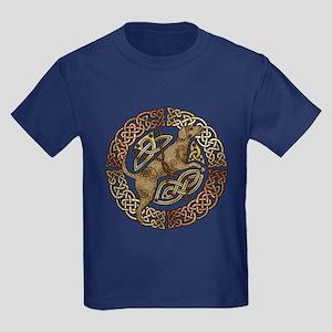 Celtic Dog Kids Dark T-Shirt