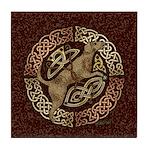 Celtic Dog Tile Coaster