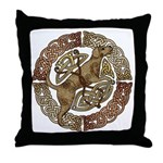 Celtic Dog Throw Pillow