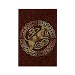 Celtic Dog Rectangle Magnet