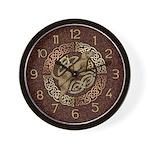 Celtic Dog Wall Clock