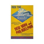 Ride The Crusader 1937 Rectangle Magnet (10 pack)
