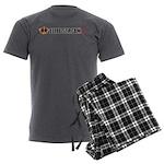 ESTV LOGO Men's Charcoal Pajamas