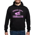 Everyone Loves a Cheerleader Hoodie (dark)