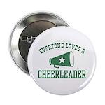 Everyone Loves a Cheerleader Button