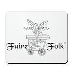 Faire-Folk (R) Logo Mousepad