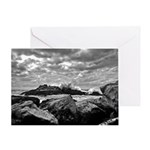 Corley Waves Image Greeting Cards