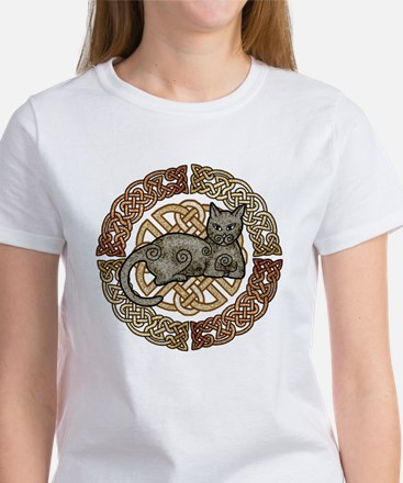 Celtic Cat Women's T-Shirt