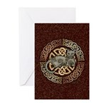 Celtic Cat Greeting Cards (Pk of 20)