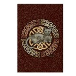 Celtic Cat Postcards (Package of 8)