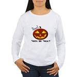 Trick-or-Treat Boo! Long Sleeve T-Shirt