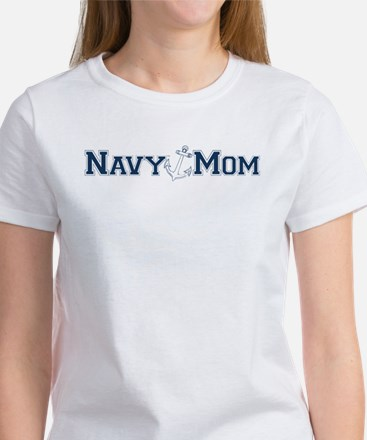 Navy Mom (with anchor) T-Shirt
