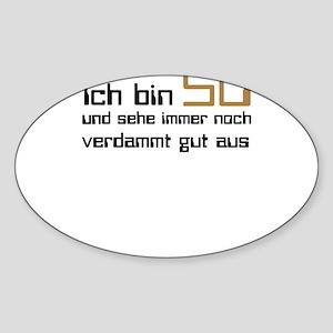 50 Geburtstag Sticker