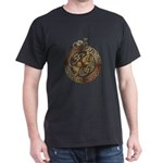 Celtic Cat and Dog Dark T-Shirt