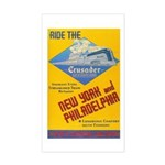 Ride The Crusader 1937 Rectangle Sticker
