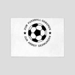 Fussball 5'x7'Area Rug