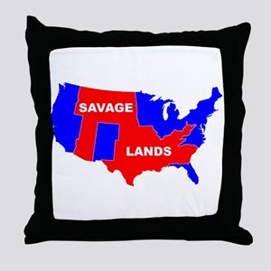 savagelands Throw Pillow