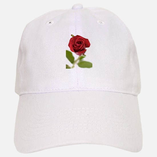 RED ROSE_9 Baseball Baseball Cap