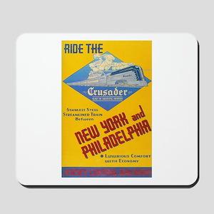 Ride The Crusader 1937 Mousepad