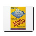 Ride The Crusader 1937 Mousepad