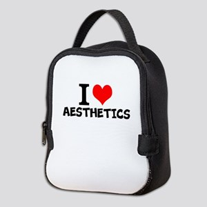 I Love Aesthetics Neoprene Lunch Bag