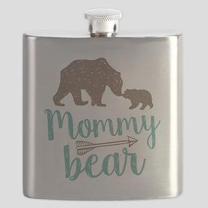 Mommy Bear Flask