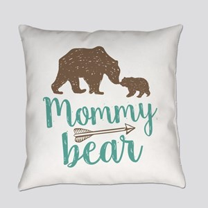Mommy Bear Everyday Pillow
