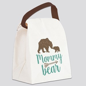 Mommy Bear Canvas Lunch Bag